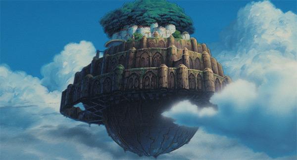 天空の城ラピュタ,動画